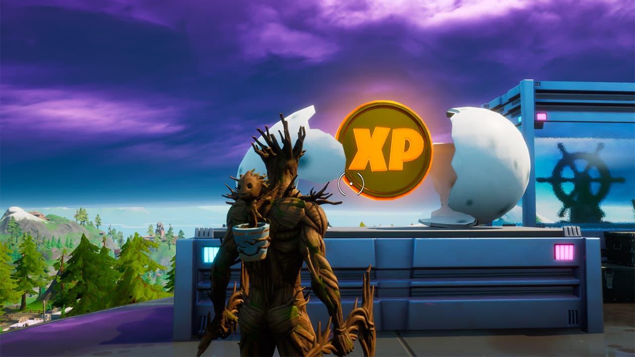 Ubicación de todas las monedas de XP doradas en la temporada 4 de Fortnite | Kyaooo