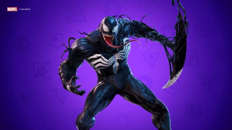 Venom será el último villano de Marvel en aterrizar a Fortnite