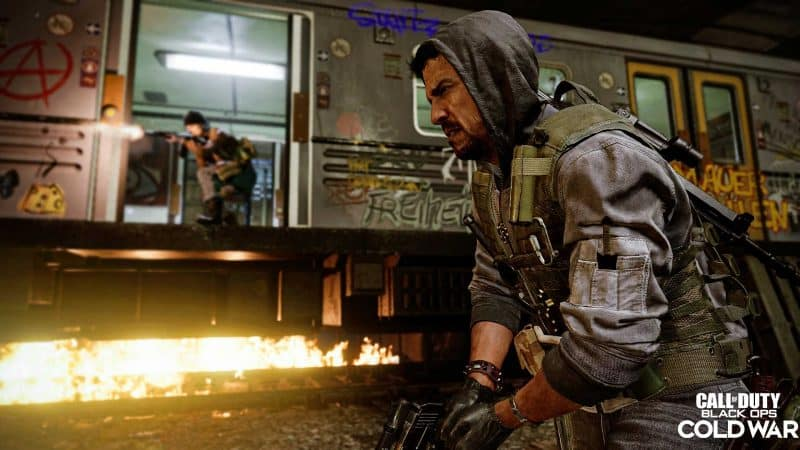 U BAHN mapa cod black ops cold war