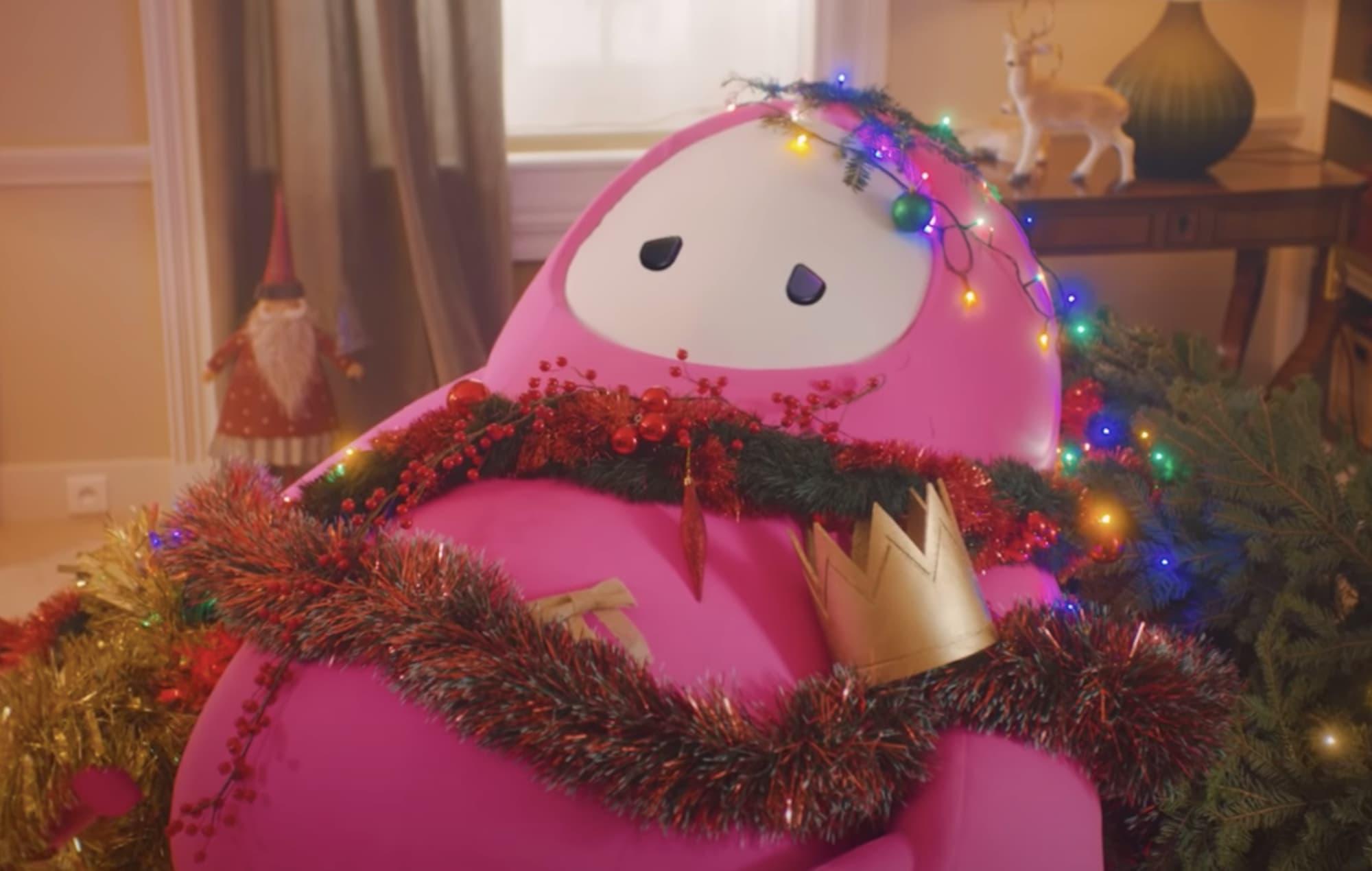 Fall Guys regalará una skin de Papá Noel con motivo de la Navidad