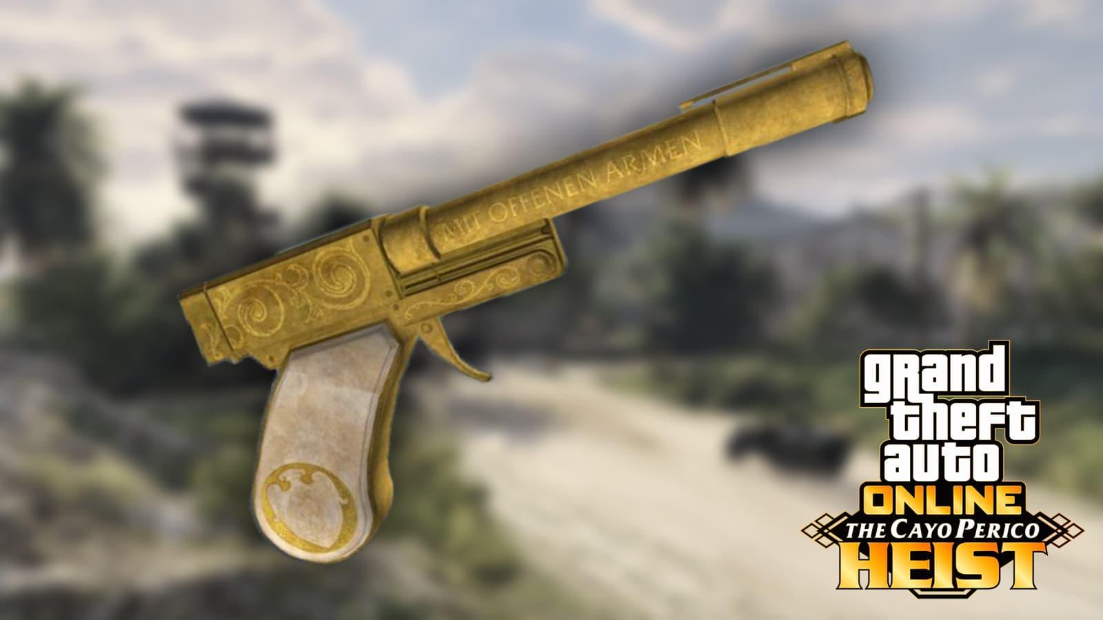 Cómo se obtiene la pistola de Cayo Perico en GTA Online