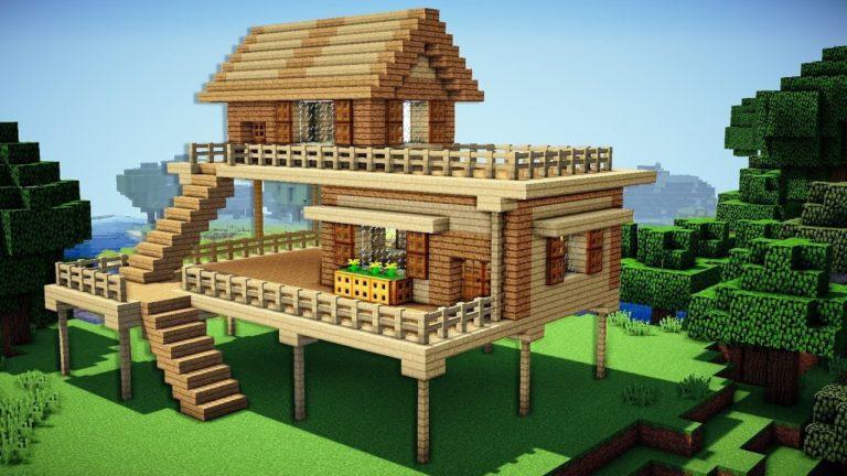 Cómo hacer vallas y puertas de vallas en Minecraft