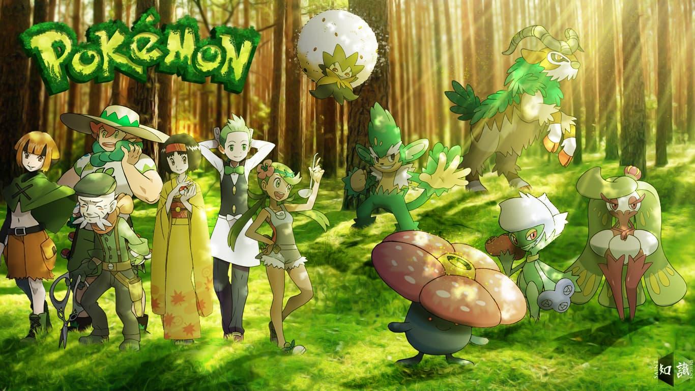 Todos los ataques de tipo planta de Pokémon GO
