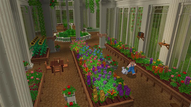 bloom jardin minecraft