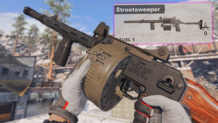 Cómo conseguir la nueva escopeta Streetsweeper en Warzone