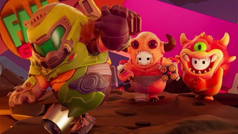 Fall Guys celebrará un evento especial sobre Doom