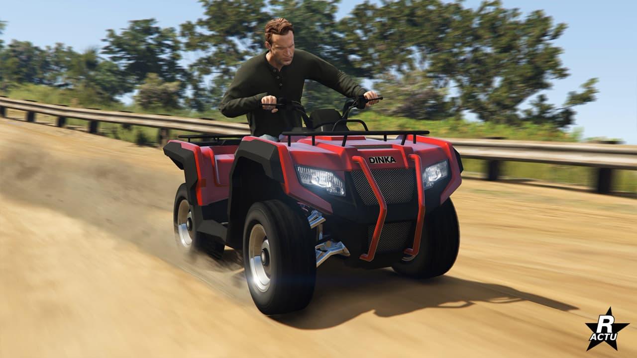 Consigue el quad Dinka Verus con el último parche de GTA Online | Kyaooo