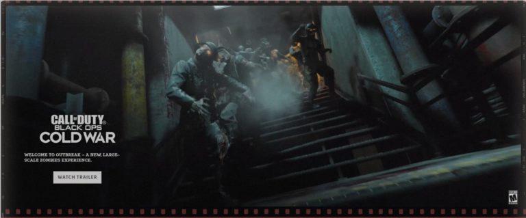CoD: Black Ops Cold War contará con Outbreak, un nuevo modo de zombis