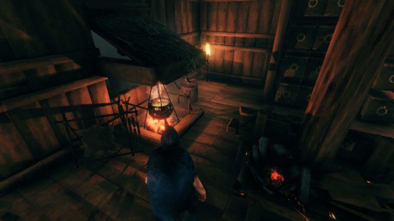 Cómo hacer una hoguera dentro de tu casa de Valheim