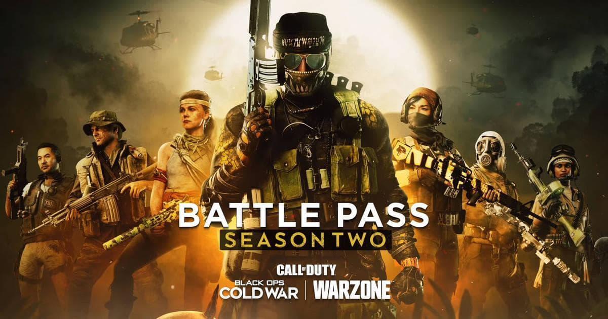 Así será el pase de batalla de la temporada 2 de Warzone y CoD: Black Ops Cold War