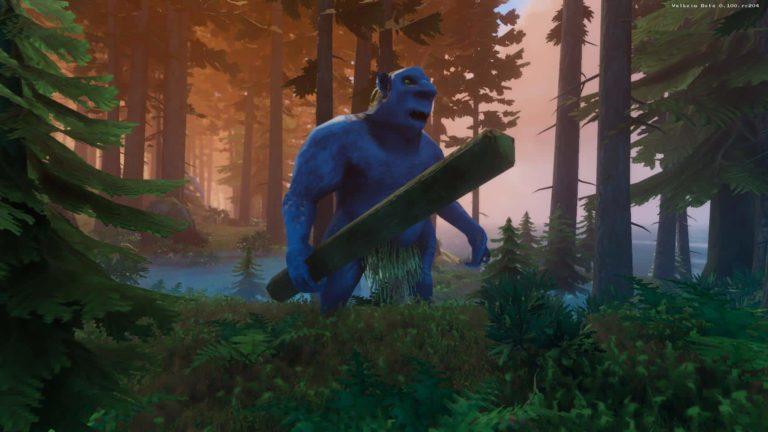 Cómo usar a los trolls a tu favor para recoger materiales en Valheim