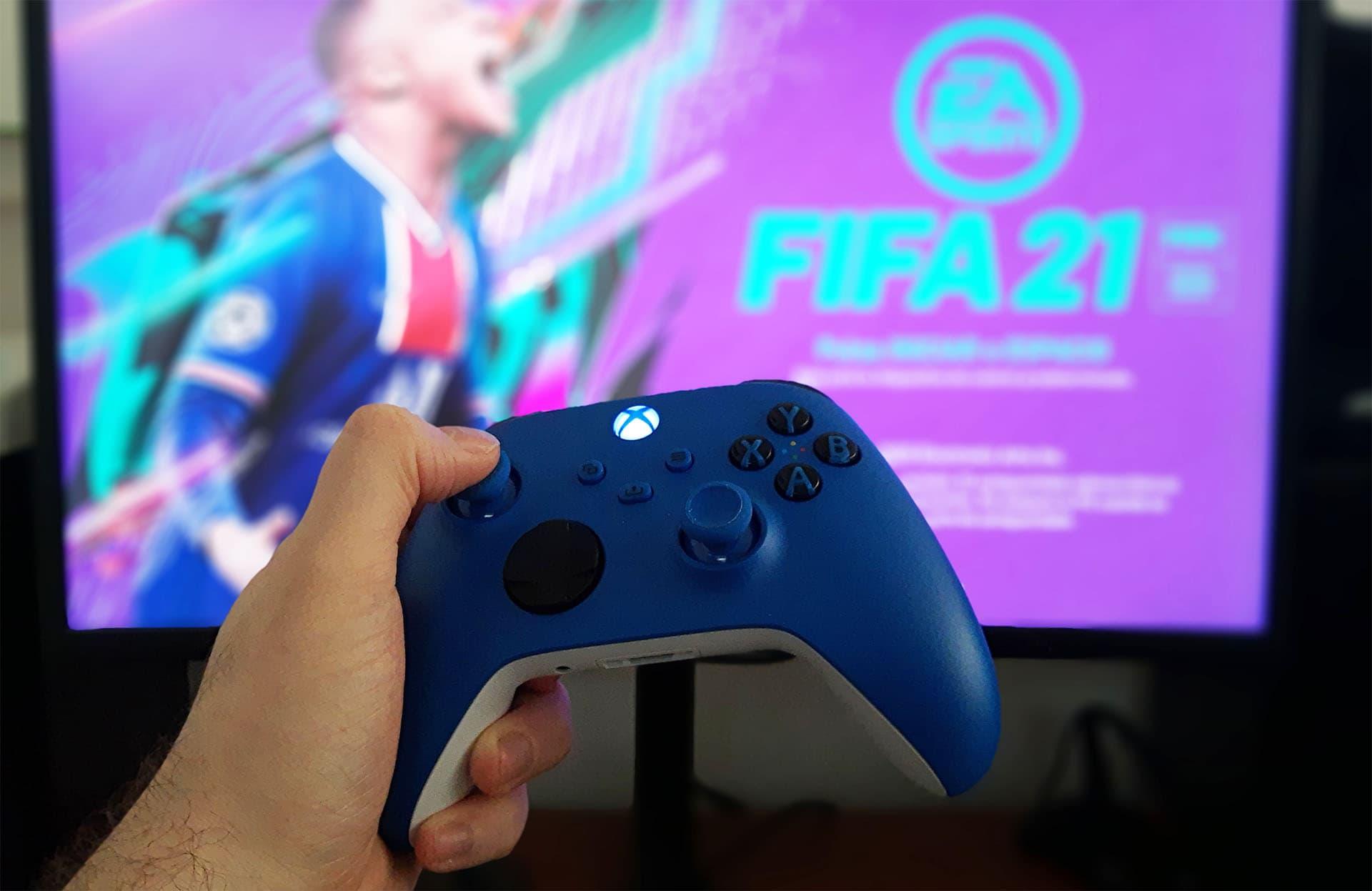 Así puedes ajustar el delay de tu mando en FIFA 21