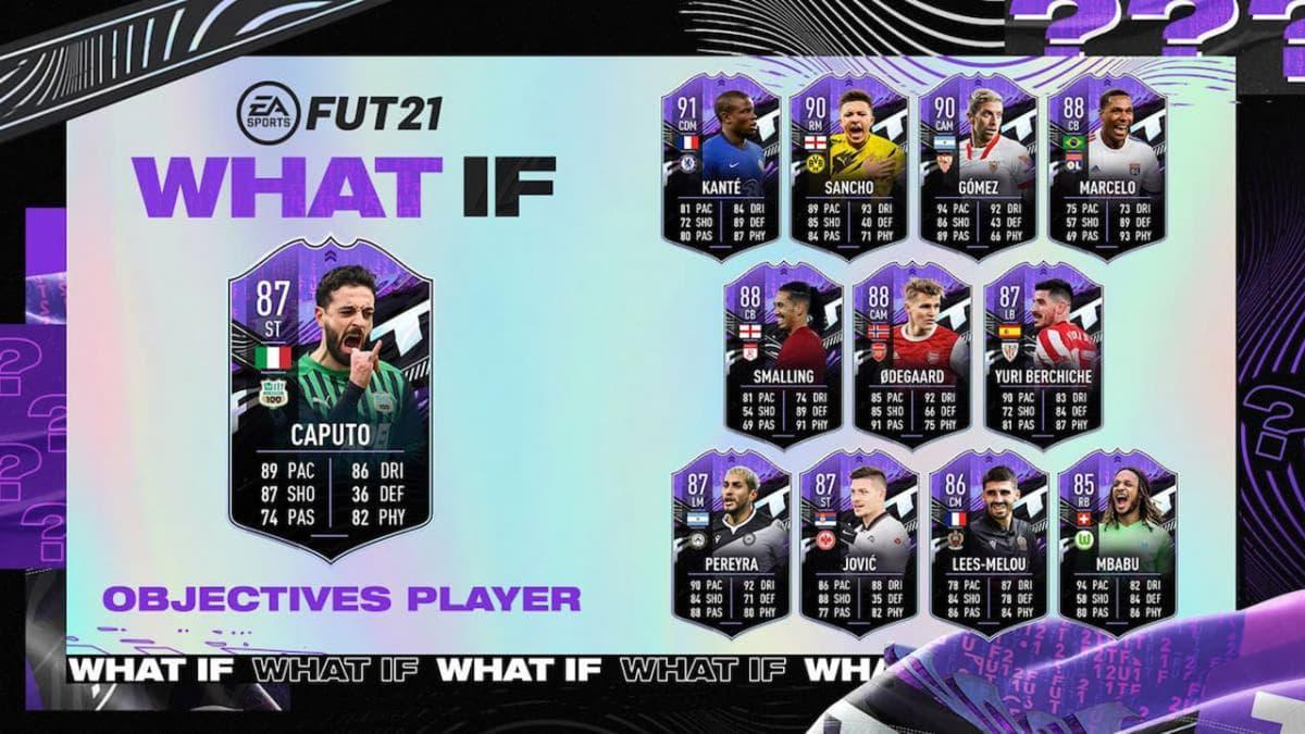 Cómo conseguir a 'What if' Caputo en el FUT de FIFA 21