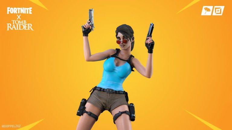 Cómo jugar al nivel de Tomb Raider en Fortnite