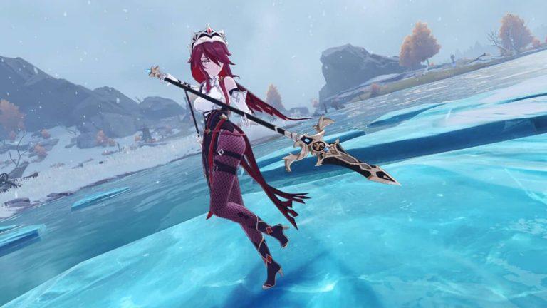 Así es Rosaria, el nuevo personaje de Genshin Impact