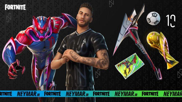 Así es la skin oficial de Neymar en Fortnite