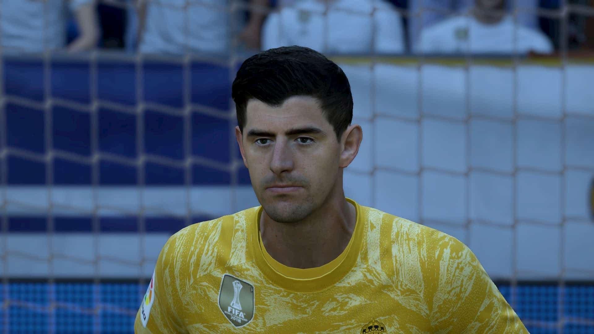 Thibaut Courtois, en el Equipo de la Semana (TOTW) 30 de FIFA 21