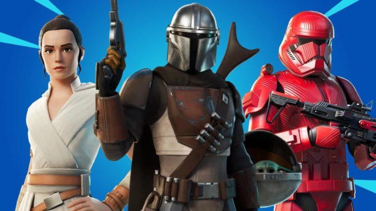 Estas son las nuevas armas y cosméticos de Star Wars que llegarán a Fortnite