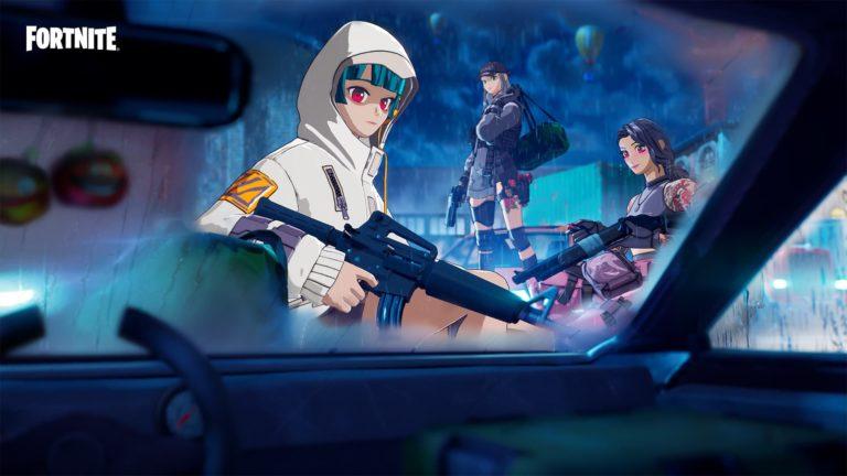 Infiltración Cibernética, nuevas skins de anime de Fortnite