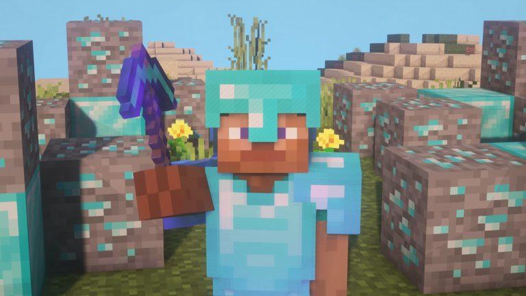 Las mejores semillas para farmear diamante en Minecraft