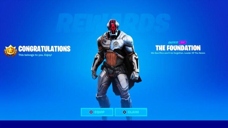 Cómo conseguir la skin de The Foundation en Fortnite
