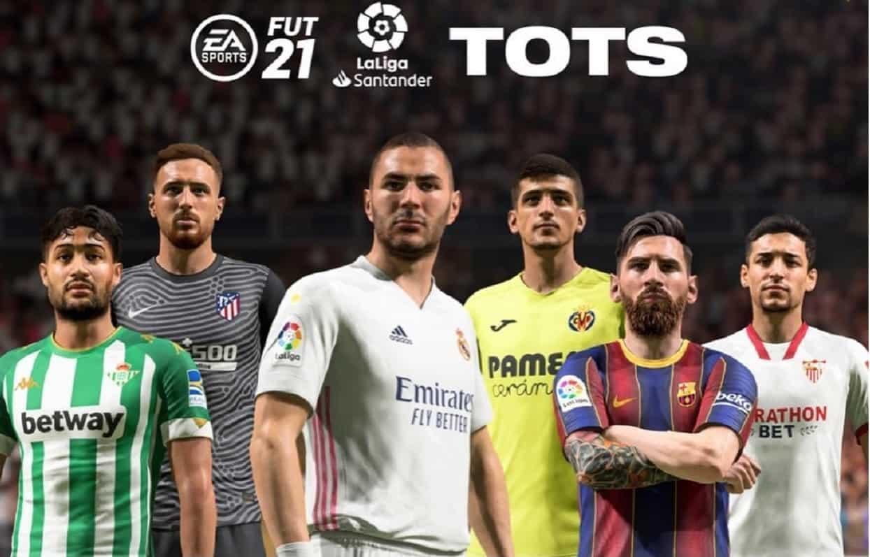 Estos serán los jugadores del TOTS (Team of the Season) de FIFA 21 de LaLiga Santander
