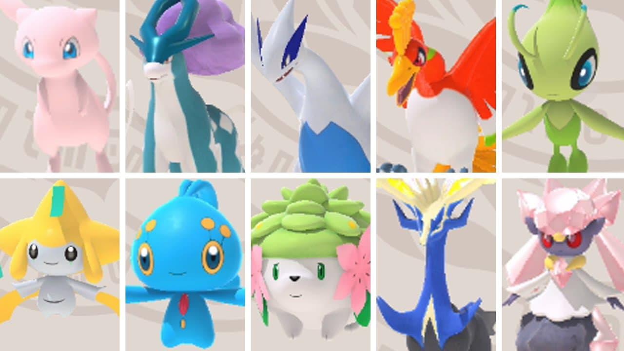 Estos son todos los legendarios que aparecen en New Pokémon Snap