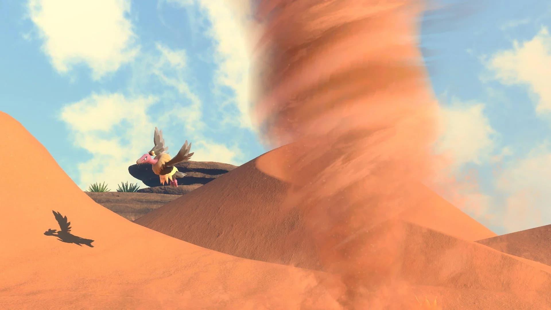 Estos son los pokémon que aparecen en el Desierto (de día) de New Pokémon Snap