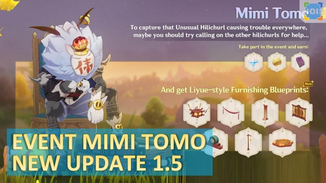 Mimi tomo, el nuevo evento de Genshin Impact con múltiples recompensas | Kyaooo