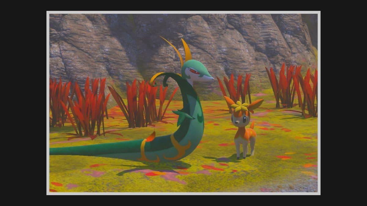 Lista de Pokémon del Bosque de Zona Lúmini en New Pokémon Snap