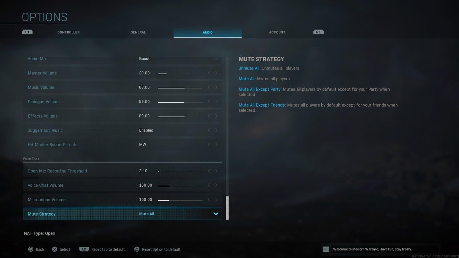 Cómo silenciar a tus compañeros de equipo en Warzone