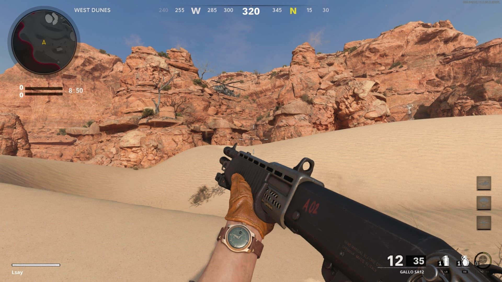 La mejor clase para masacrar con la Gallo SA12 en Warzone | Kyaooo
