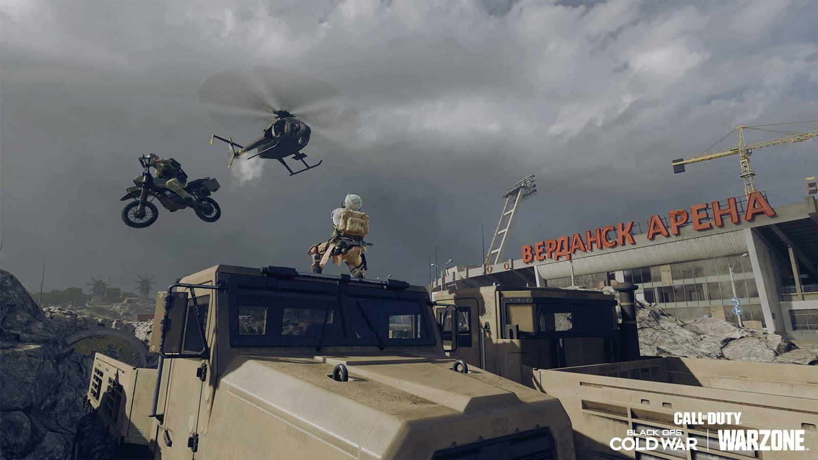 Así es Payload, el nuevo modo de juego de Warzone