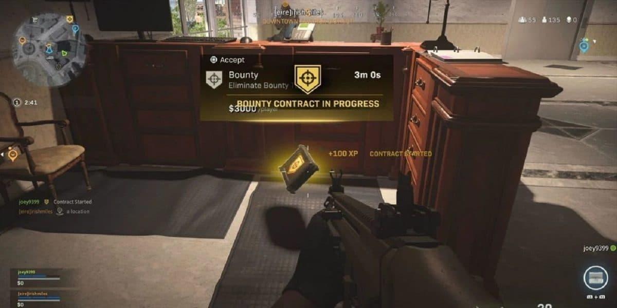 Nuevo bug en Call of Duty Warzone estropea las recompensas con contratos imposibles de cumplir