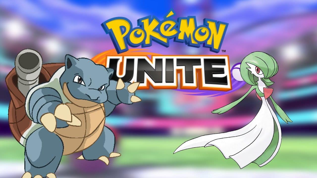 Blastoise y Gardevoir, los próximos en llegar a Pokémon Unite