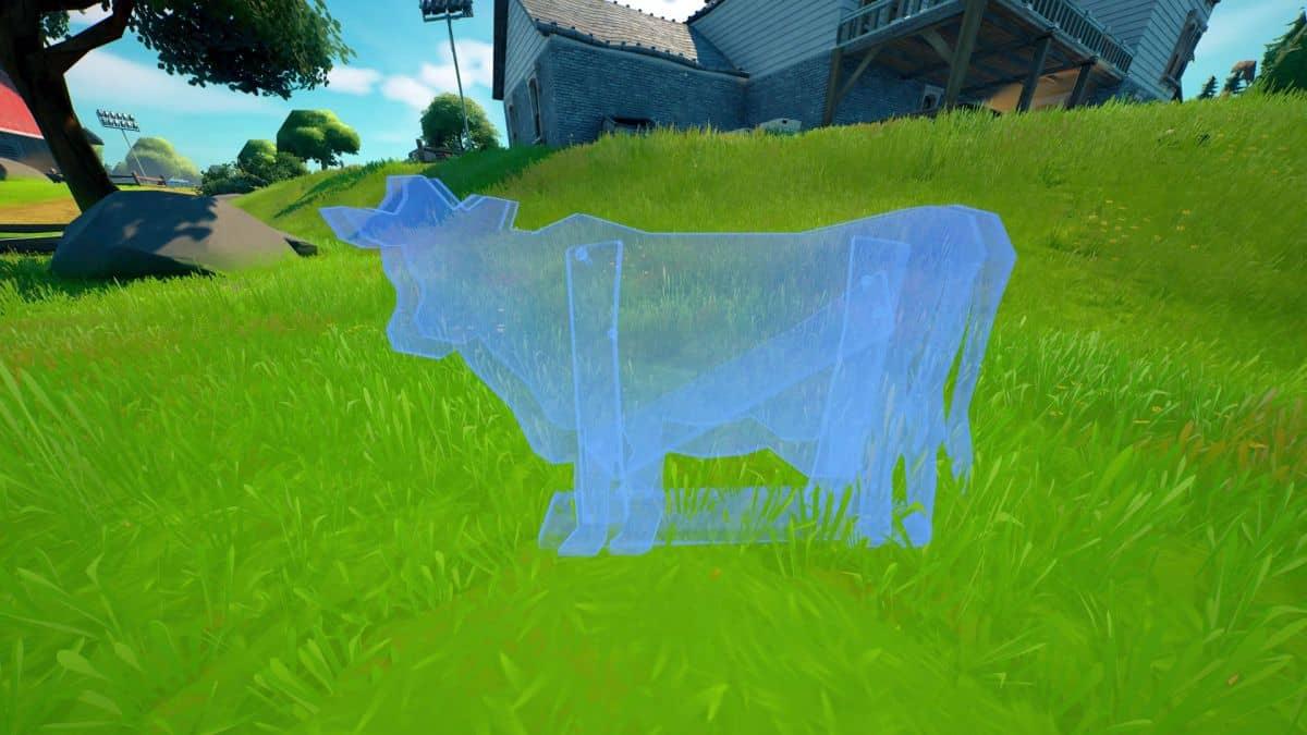 Dónde colocar vacas señuelo en granjas de Fortnite
