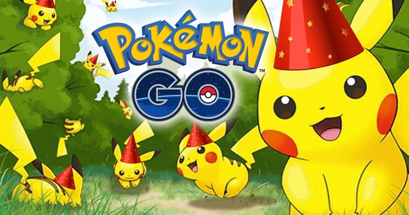 Así será el evento del 5º aniversario de Pokémon GO
