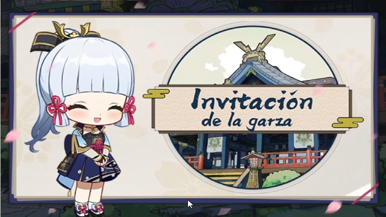 Cómo superar el evento Invitación de la garza en Genshin Impact