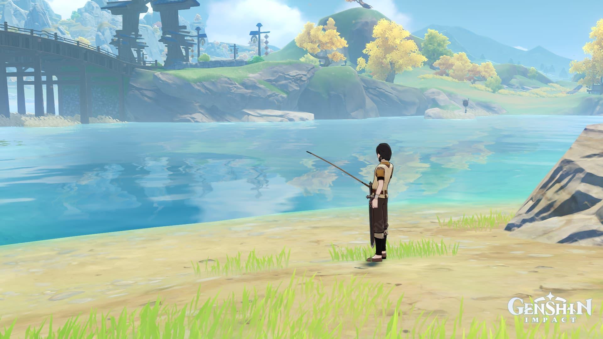 Genshin impact tendrá mecánicas de pesca