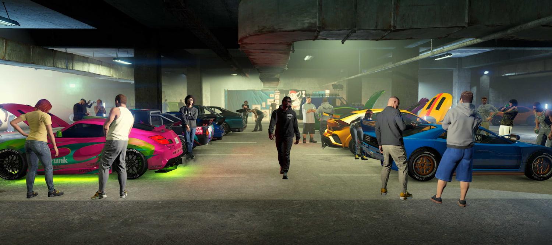 Así es Los Santos Tuners, nueva actualización de GTA Online | Kyaooo