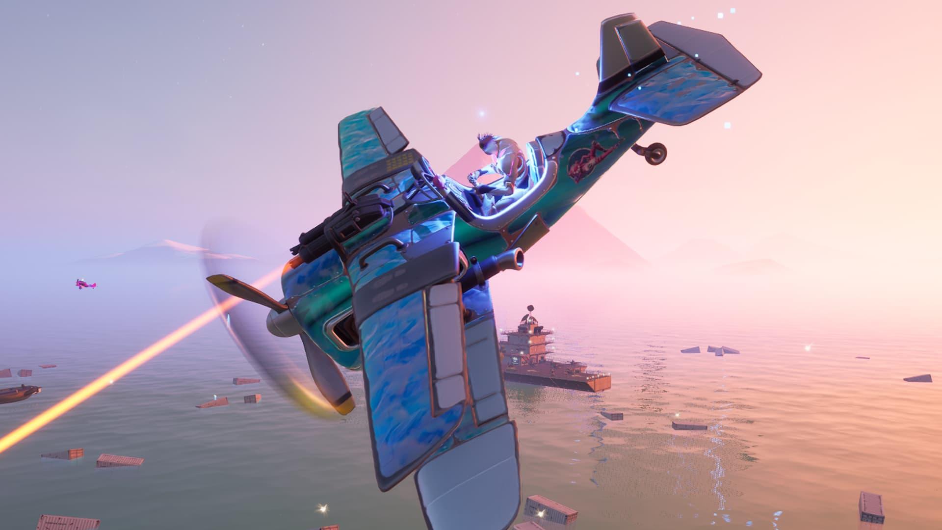 Misiones de Freaky Flights en Verano Cósmico de Fortnite
