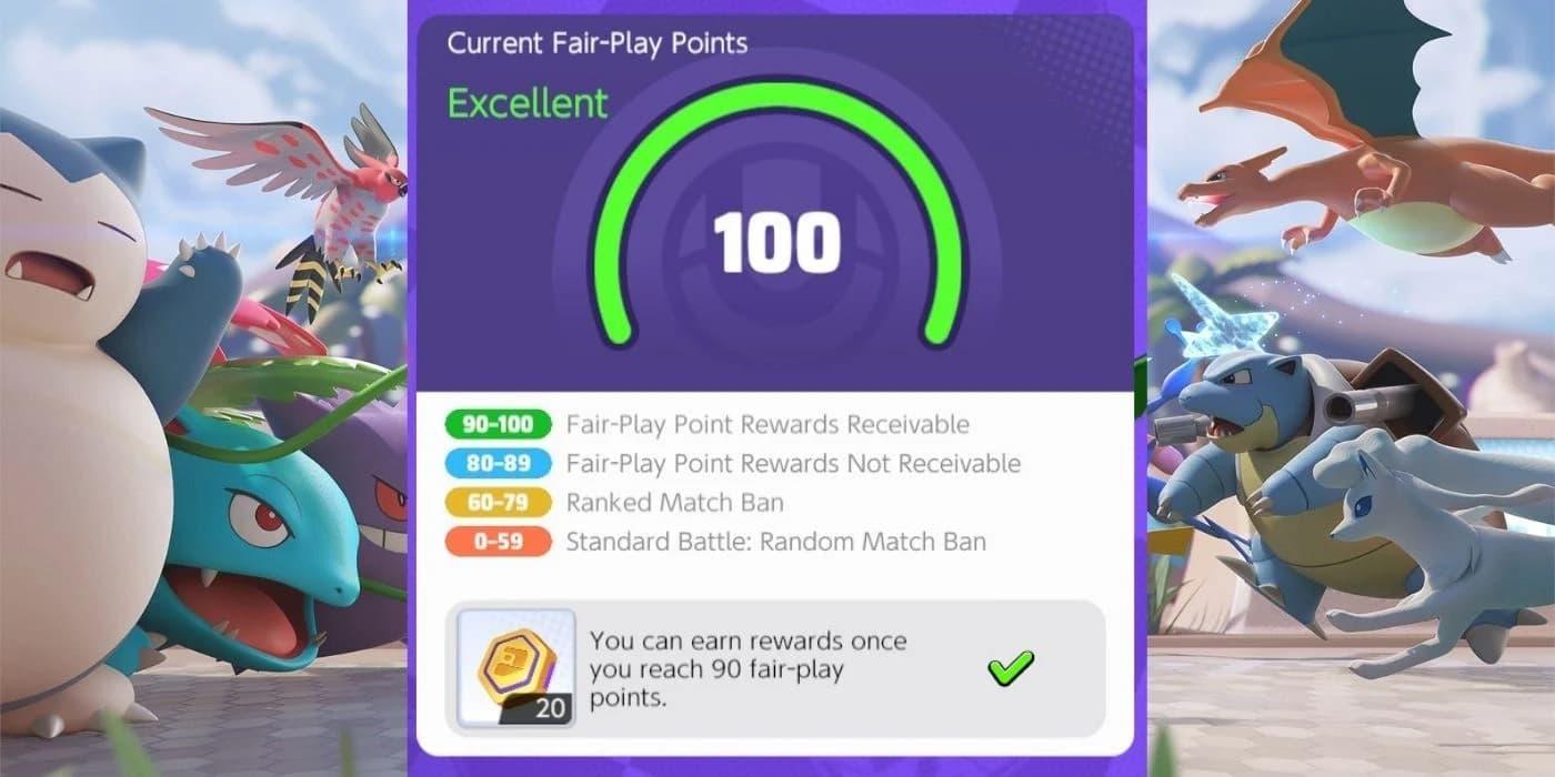 ¿Qué son los puntos Fair Play de Pokémon Unite?