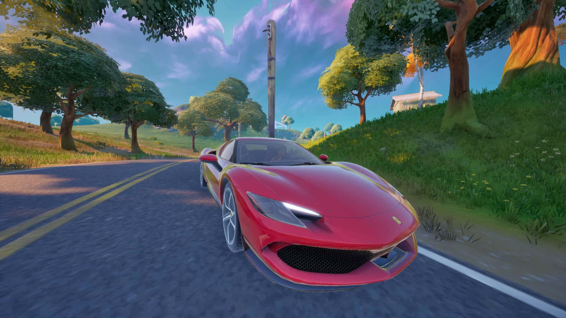 Dónde conseguir un Ferrari 296 GTB en la temporada 7 de Fortnite