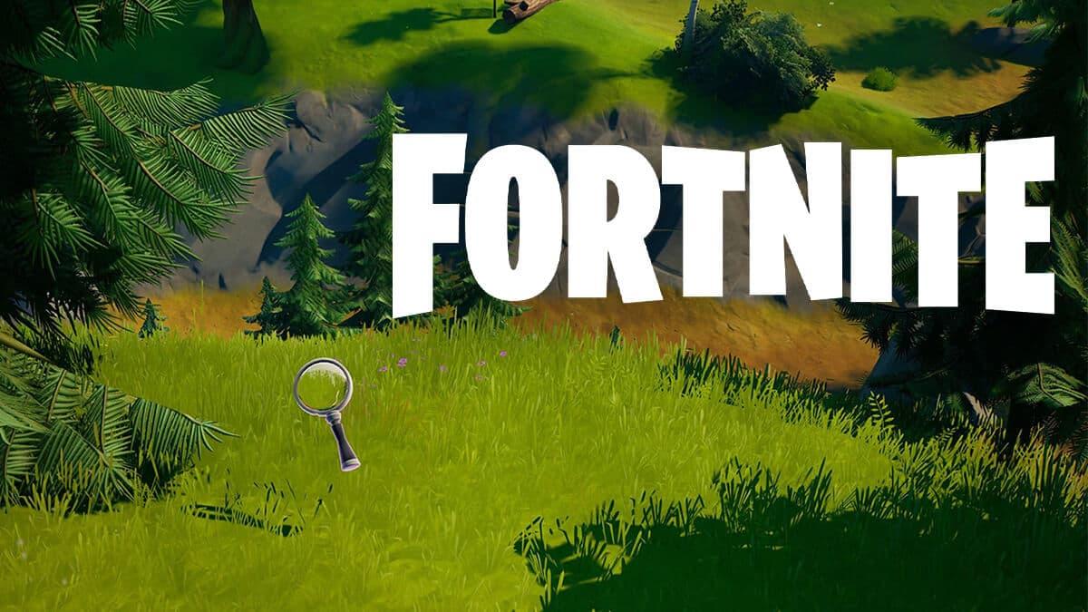 Ubicación de las pistas en la granja en Fortnite