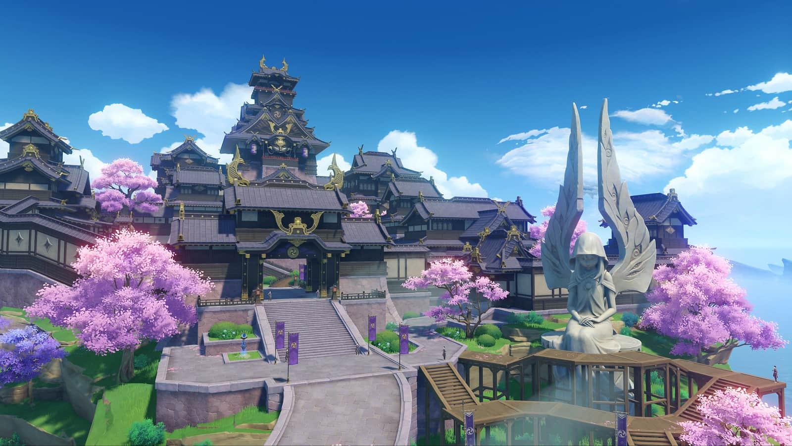 Ubicación de todos los santuarios de Inazuma en Genshin Impact