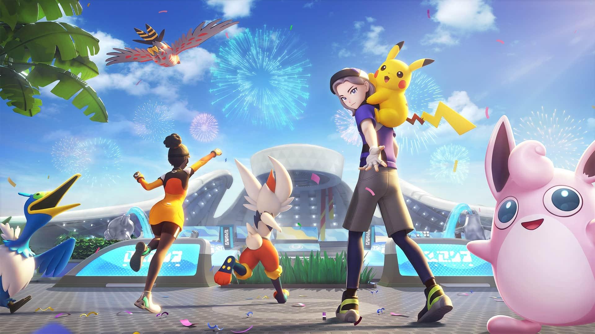 Cómo cambiarse el nombre de entrenador en Pokémon Unite