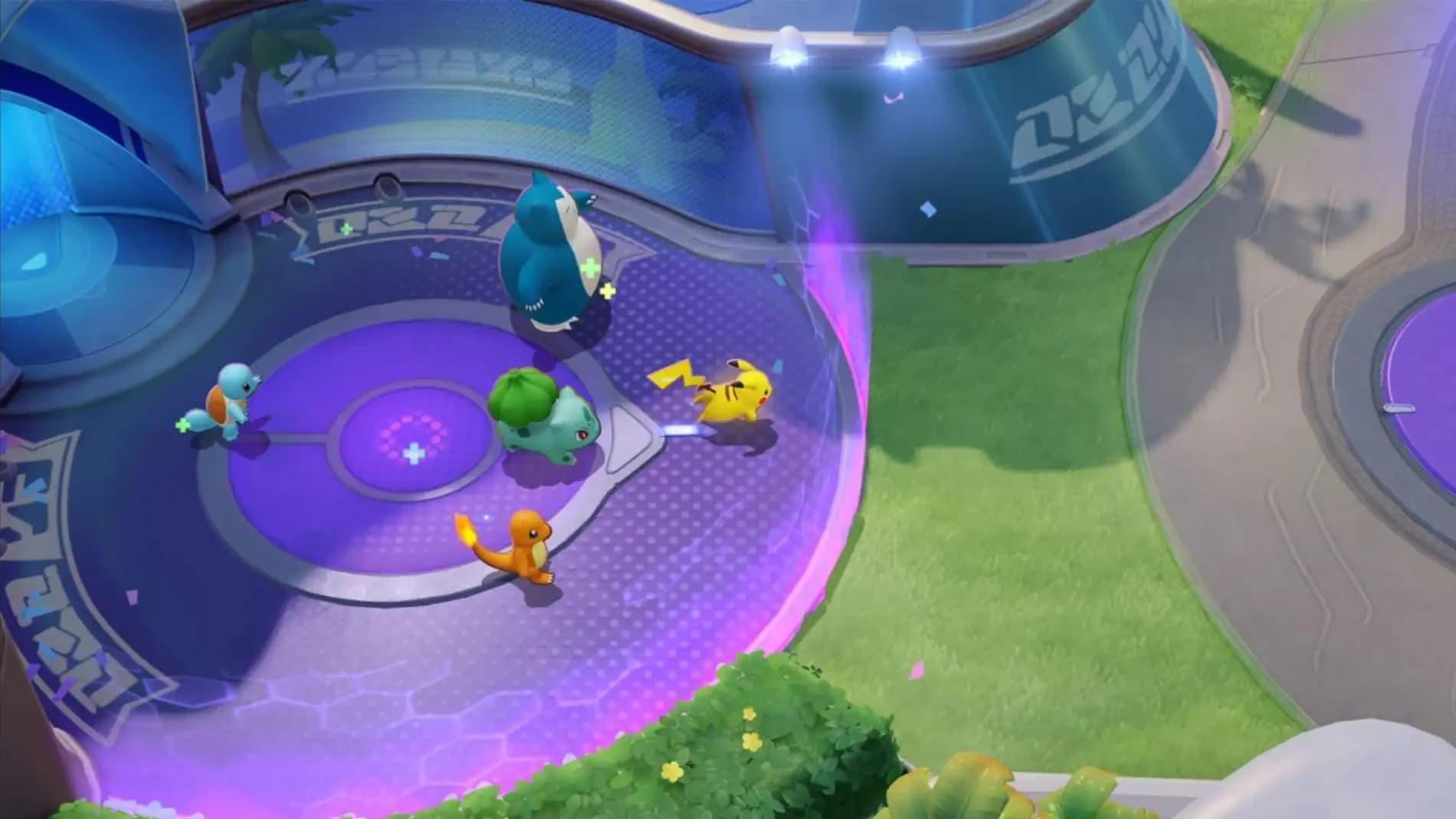 Cómo curarse más rápido en Pokémon Unite