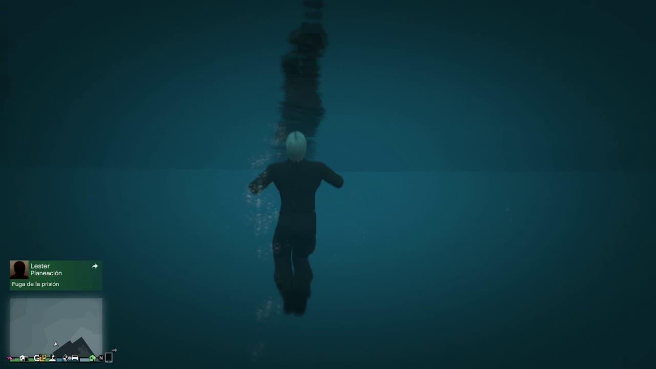 Cómo evitar ahogarte en el agua en GTA Online