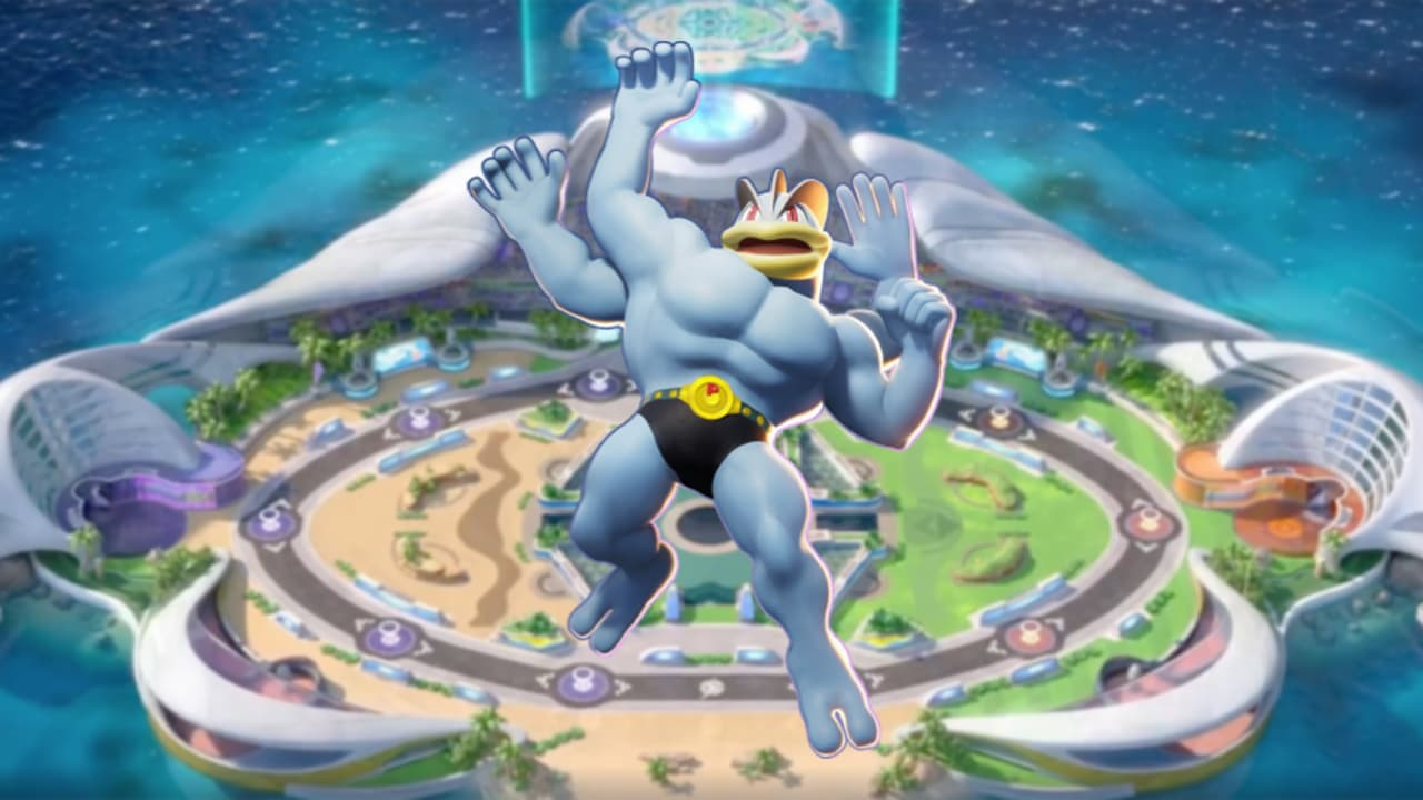 Guía de Machamp de Pokémon Unite: ataques, build, estrategia...