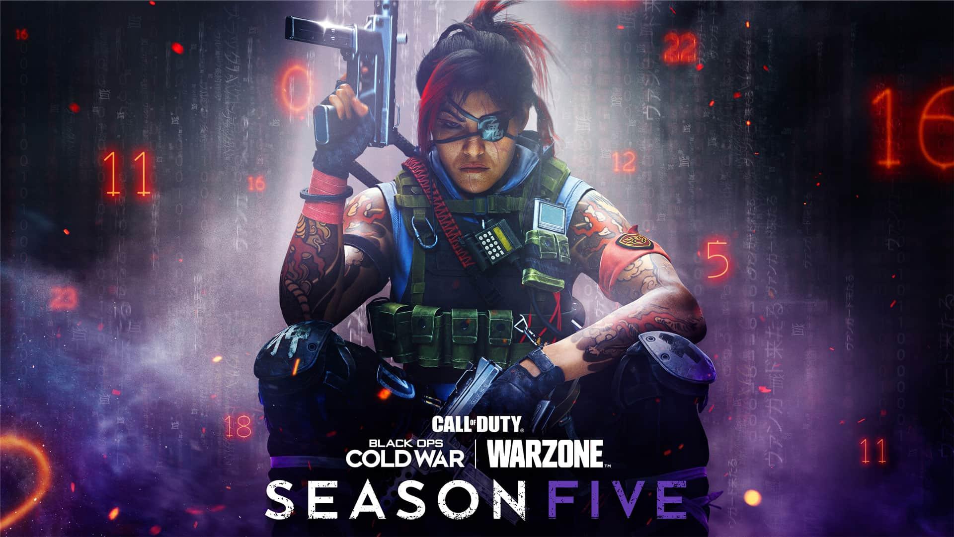 Todo sobre el pase de batalla de la temporada 5 de Warzone